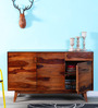Milton Sideboard in Honey Oak Finish by Woodsworth