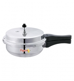 Pigeon Aluminium Pressure Pan Junior Cooker With Lid -3.5 Ltr