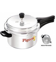 Pigeon Aluminum Pressure Cooker - 5 liters