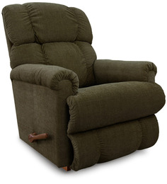Pinnacle Recliner in Dark Green Colour by La-Z-Boy