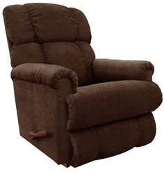 Pinnacle Recliner with Dark Brown Fabric Cover by La-Z-Boy