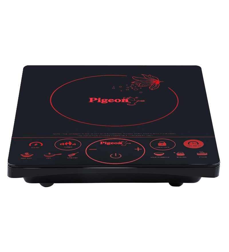 Pigeon   Induction Cooktop -Rapido Touch (Black)