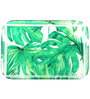 Pickled Canvas Green Foliage Bedside Acrylic Tray