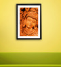 Pickypomp Paper 8 x 12 Inch Wood Work Framed Wall Poster