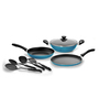 Pigeon Aluminium Non-stick Cookware Set - Set of 6