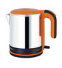 Pigeon Egnite Silver and Orange 1.2 L Electric Kettle