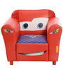 Pixar Cars One Seater Leatherette Kids Sofa by Orka
