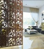 Planet Decor Wenge Acrylic with Wooden Lamination Room Divider