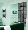 Planet Decor Black Acrylic with Wooden Lamination Room Divider