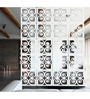 Hendrix Room Divider in White by Bohemiana
