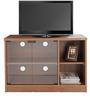 Plasma TV Cabinet in Natural Teak Finish by Zuari