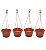 First Smart Deal Hanging Terracotta Planter - Set of Four