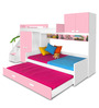 Play Bunk Bed in Pink Colour by Alex Daisy