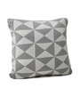 Pluchi Pinwheel Cotton Knitted Cushion Cover