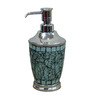 Plumeria Green Mosaic Bathroom Accessories 1 Pc