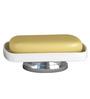 Plumeria White Ceramic Bathroom Accessories 1 Pc
