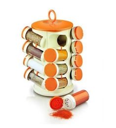 Pogo Revolving Orange Masala Rack
