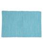 Po Box True Blue Cotton Table Mat - Single