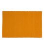 Po Box Orange Cotton Table Mat - Single