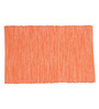 Po Box Exotic Orange Cotton Table Mat - Single