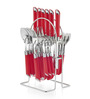 Pogo Impression Stainless Steel Cutlery Set - Set of 25