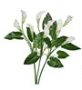 Pollination White Artificial Calla Lily- Set of 3