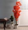 Pollination Orange Maple Artificial Plant
