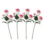 Pollination Pink Shaded Chrysanthemum Artificial Flowers - Set of 4