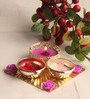 Gupta Glass Gallery Multicolour Metal Puja Set
