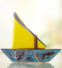 Poppadum Art Paper Boat Napkin & Toothpick Holder
