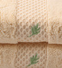 Portico New York Cream Cotton 16 x 24 Inch Therapeia Fresh Hand Towel - Set of 2