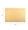 Portico New York Yellows Cotton 27 x 19 Bath Mat