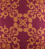Portico Purple & Orange Cotton 16 x 16 Inch Neeta Lulla Cushion Cover - Set of 2