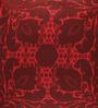 Portico Red Cotton 16 x 16 Inch Neeta Lulla Cushion Cover - Set of 2
