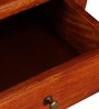 Toston Bed Side Table in Honey Oak Finish by Woodsworth