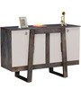 Langley Sideboard in Olive Grey Finish by Woodsworth