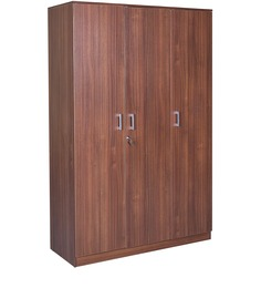 Premier Three Door Wardrobe in Regato Walnut Colour by HomeTown