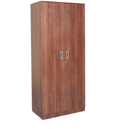 Premier Two Door Wardrobe in Regato Walnut Colour by HomeTown