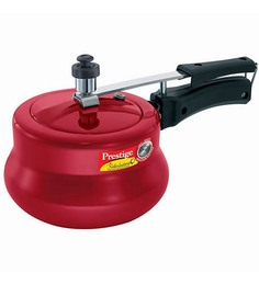 Prestige Nakshatra Plus Red Aluminium 3 L Pressure Cooker