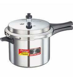 Prestige Popular Aluminium 5 L Pressure Cooker