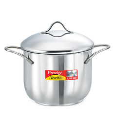 Prestige Xclusive Stainless Steel  Stainless Steel 2000 ML Deep Pot