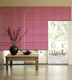 Presto Pink Polyester Window Blind