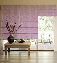 Presto Purple Polyester Window Blind