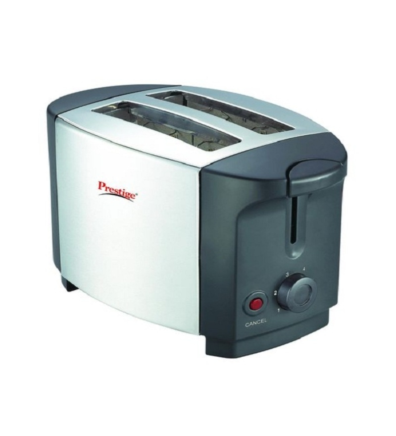 Prestige PPTSKS   Popup Toaster Stainless Steel (Grey)