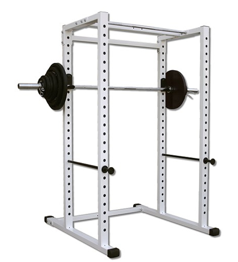 Power Rack With Weights: Protoner Weight Lifting Power Squat Rack With 500Kgs