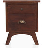 Prague Bedside Table in Provincial Teak Finish by The ArmChair