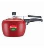 Prestige Apple Plus Red Aluminium 2 L Pressure Cooker