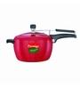 Prestige Apple Plus Red Aluminium 5 L Pressure Cooker