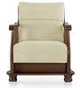 Prestige One Seater Sofa in Beige Colour by Vive