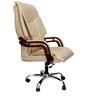 Primeus Executive High Back Chair in Cream Color By VJ Interior